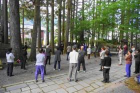 雄弘ヨーガの実践セミナー・高野山